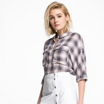 Vero Moda2016夏季新品单排多扣门襟半身裙316237006